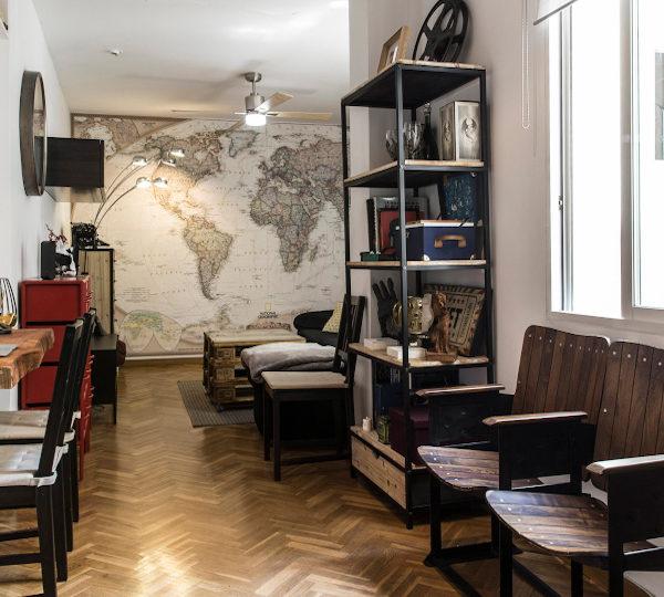 Estupendo piso en venta | Calle de Sebastián Elcano | Pasillo (ventana) | TuInmobiliaria24x7
