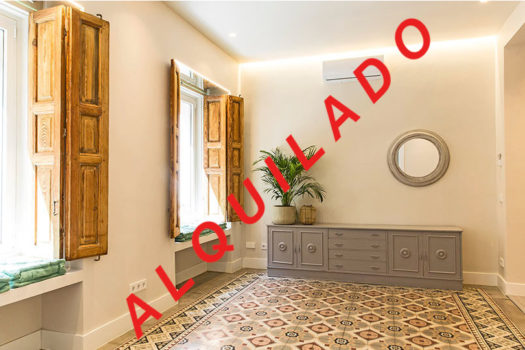 Piso en alquiler en calle Lavapiés | Madrid centro | LCeL | Salón | ALQUILADO