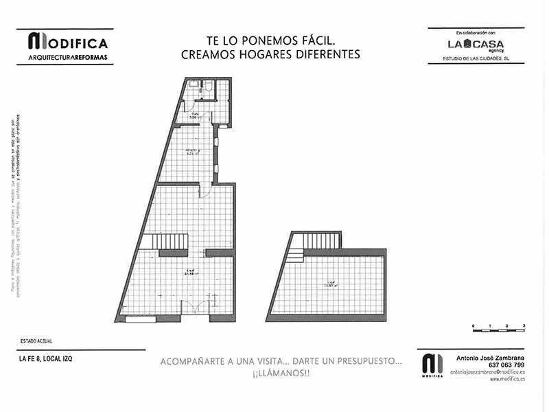 Local en venta en la calle de la Fe | Lavapiés-Embajadores | Plano | LCeL