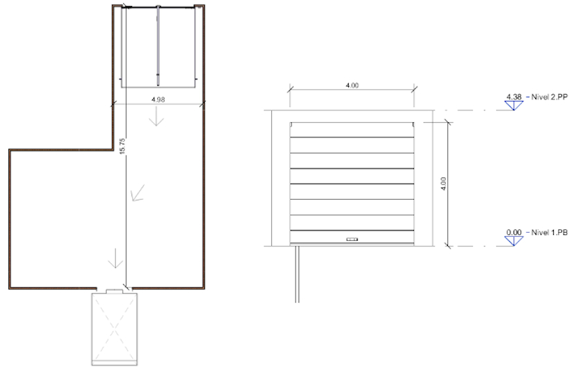 2 - Garaje en venta en la calle de la Cabeza | Lavapiés - Embajadores | LCeL | Plano planta baja