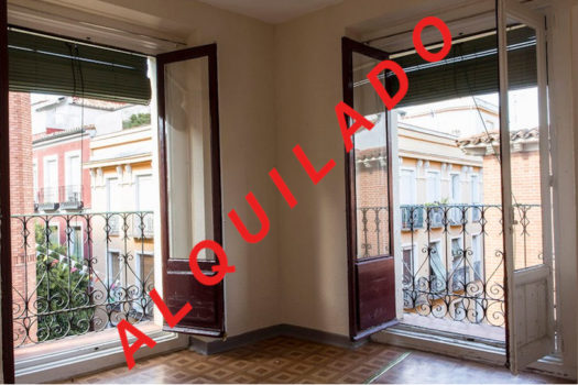 Piso para alquilar en la calle Caravaca | Balcones del salón | LCeL | ALQUILADO