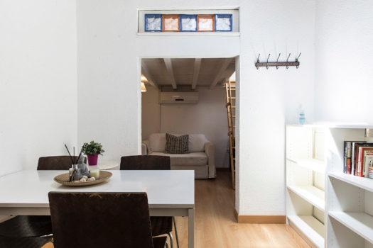 Apartamento en alquiler en la calle Sombrerería | Lavapiés - Embajadores | LCeL | Comedor y salón