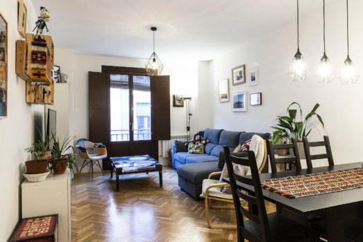 Piso en alquiler en la calle de Lavapiés | Lavapiés - Embajadores | Madrid | LCeL | Salón comedor