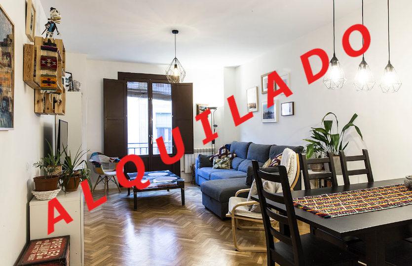 Piso en alquiler en la calle de Lavapiés | Lavapiés - Embajadores | Madrid | LCeL | Salón comedor | ALQUILADO