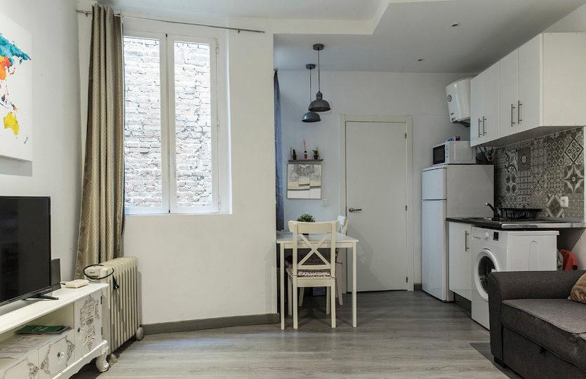 Alquiler de piso en la calle Buenavista | Lavapiés - Embajadores | LCeL | Salón, comedor, cocina