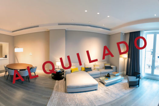 Piso en alquiler en Centro Canalejas | Calle de Alcalá | LCeL | Salón comedor | ALQUILADO